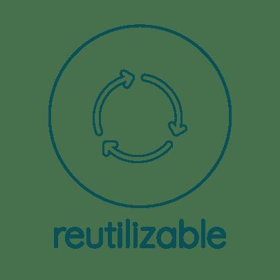 producto reutilizable en Salix