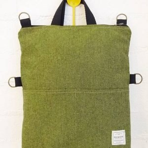 Mochila-bolso verde - Numon