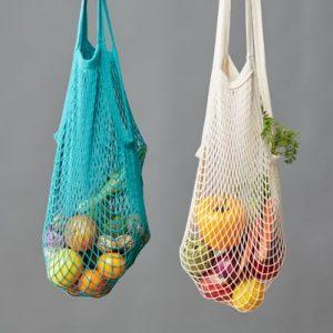 Bolsa de malla algodón orgánico