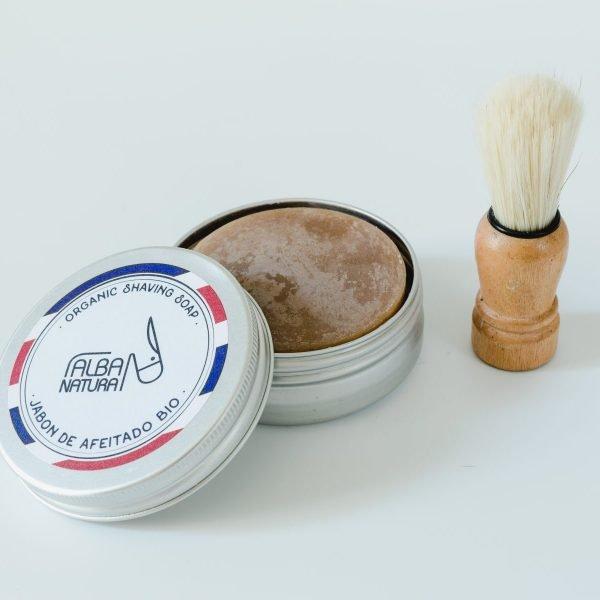Jabón sólido afeitado en lata - Neathea