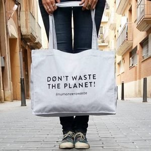 MAXI TOTE BAG EARTH_WASTE - Numon