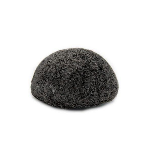 Esponja Konjac natural de carbon activo
