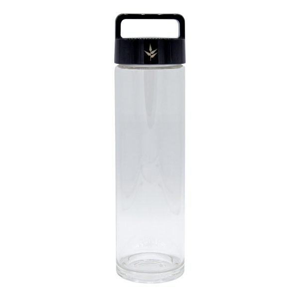 botella de cristal. Brosolicato. Banbu