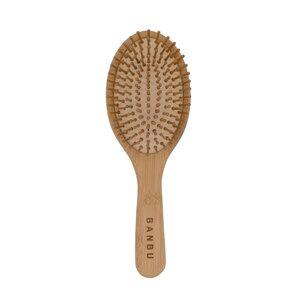 cepillo redondo de bambú. Banbu