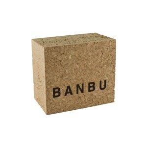 Caja de corcho cosmética sólida. Banbu