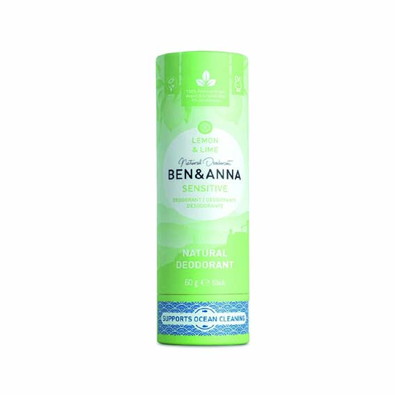 Desodorante Ben & Anna Sensitive - Lima 1