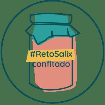 Icono #RetoConfitado de Salix Sostenible