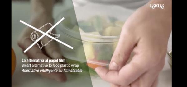Tapas extensibles reutilizables sin plástico