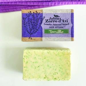 Jabón sólido antiséptico y desinfectante de tomillo