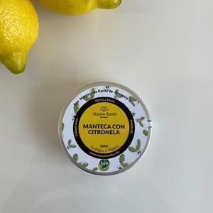 manteca de citronela
