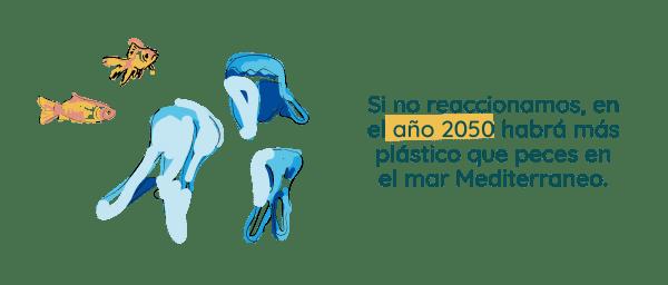 El movimiento cero residuos quiere un Mar Mediterráneo sin plásticos - Salix