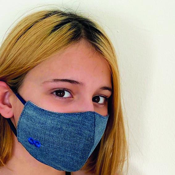 mascarilla niño reutilizable eco moda slow Infinit Denim