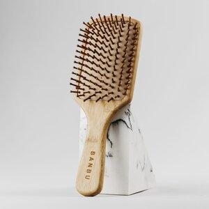 Cepillo madera cuadrado - banbu