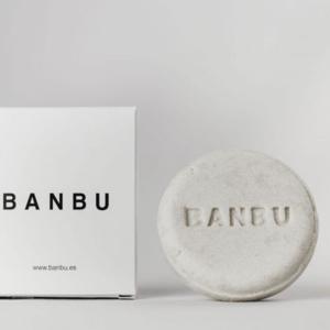 Champú sólido cabello normal seco sin plástico - Banbu