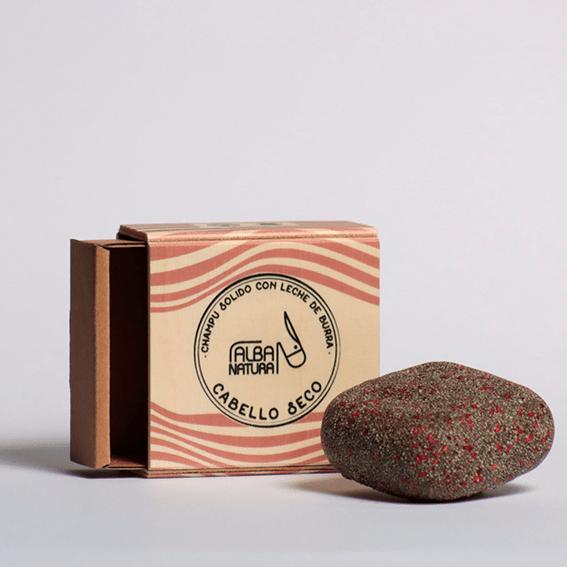 champú sólido cabello seco, residuo zero España- Neathea