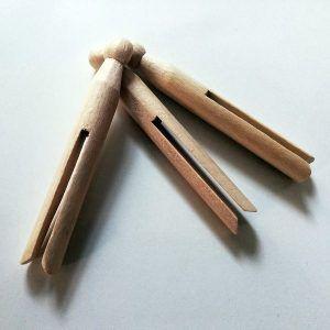 Pinzas de madera - Dignidart